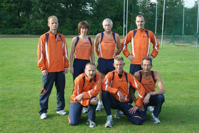 Het HAC'63 EK team